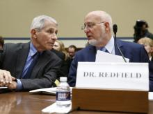 Anthony Fauci and Robert Redfield
