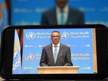 WHO Tedros on COVID-19